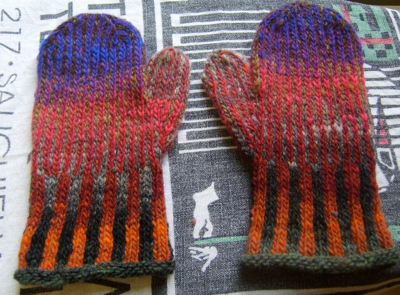 Knitting Increases For Thumb Gusset : Thumb gusset knitting