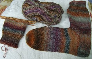 Brown_trekking_socks